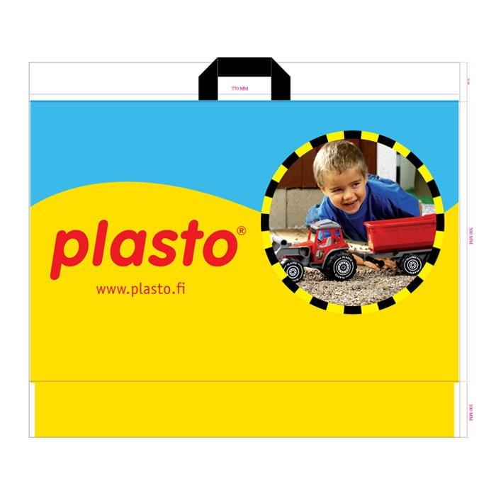 Sangallinen Muovikassi - Plasto